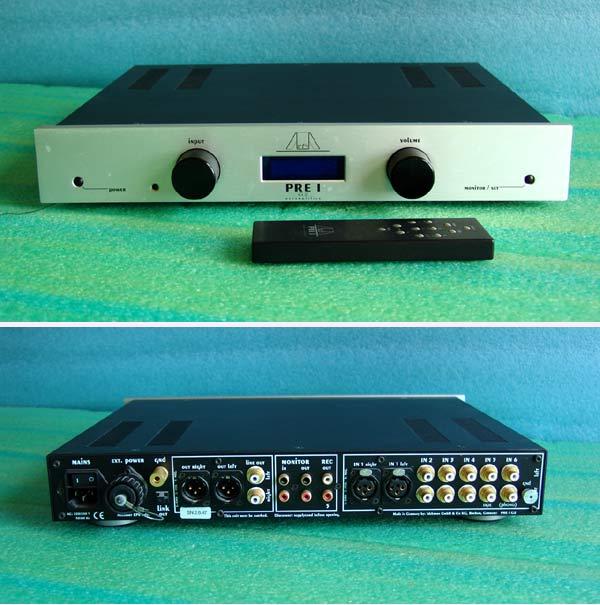 Фонокорректор Exposure 3010S2 Phono MC Black